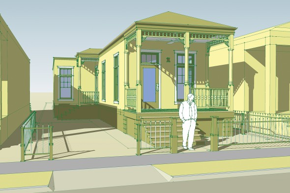 The Shotgun House Project